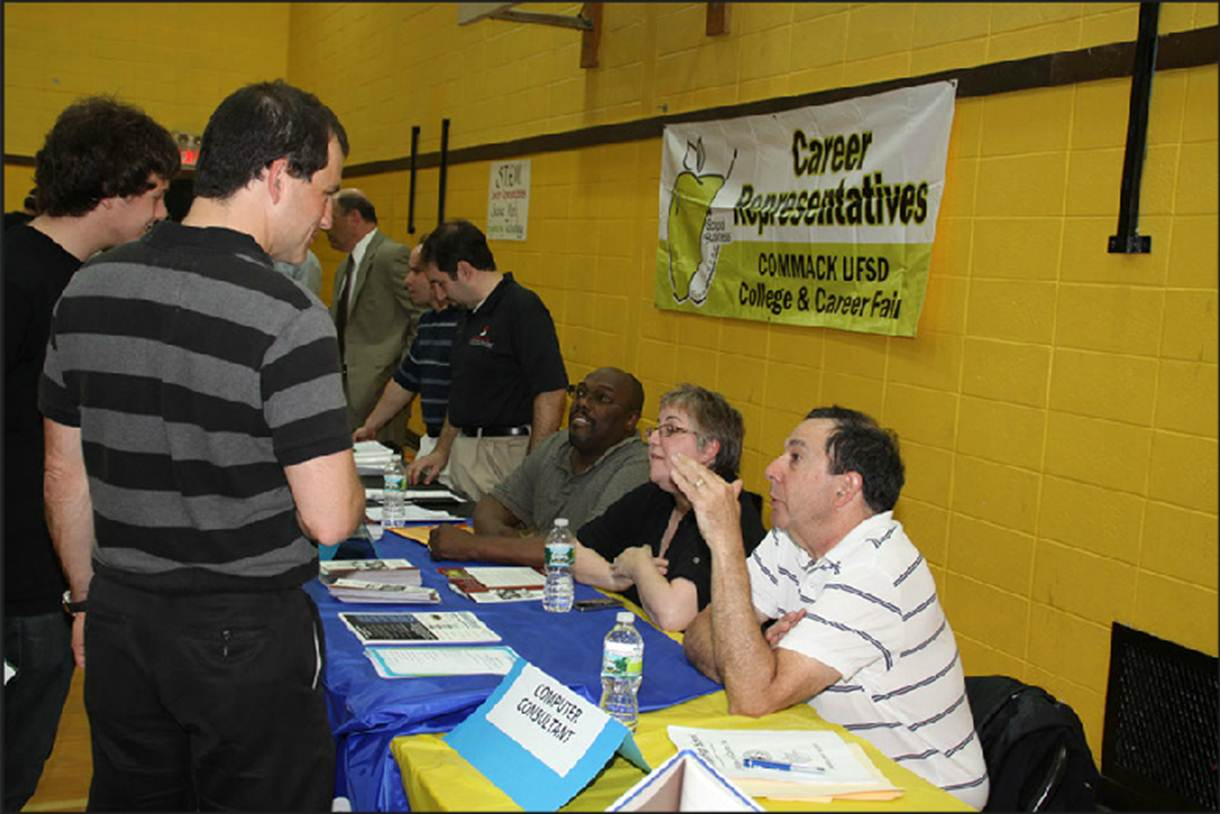 Commack HS 4-16-12 career event
