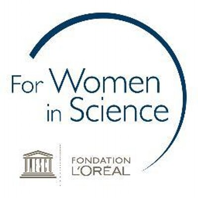 loreal women in science logo
